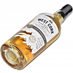 Whiskey West Cork Cask Strenght 62% (0,7L)