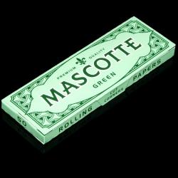 Bibułki Mascotte Green Cut Corner (50 listków)