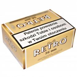 Retro Vanilla 56mm (100 cygaretek z cygarniczką)